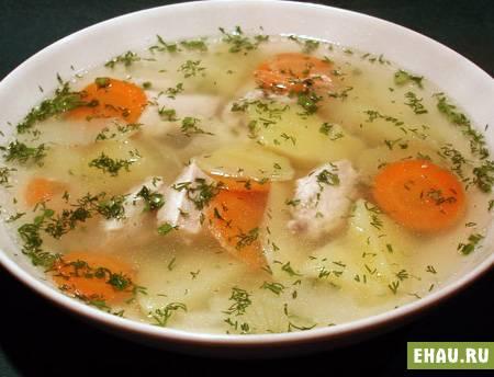 Куриный суп — 10 рецептов как приготовить суп из курицы вкусно