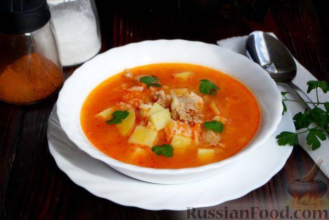 Легкий овощной суп на скорую руку