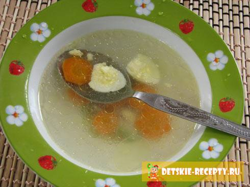Рецепт куриного бульона