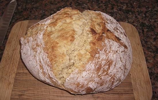Как приготовить домашний хлеб без дрожжей в духовке: пошаговые рецепты с фото