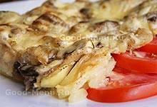 Рецепт вкусных жареных опят с картошкой