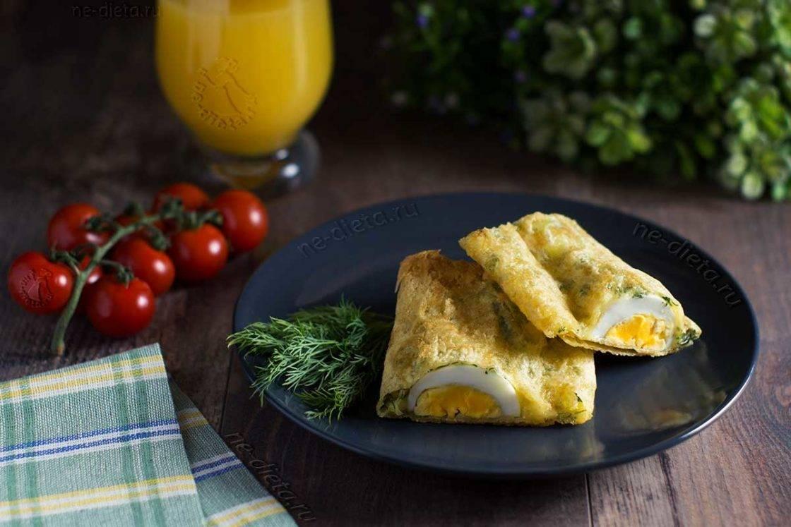 Быстрые завтраки из лаваша с начинкой на сковороде: пошаговые рецепты с фото и видео