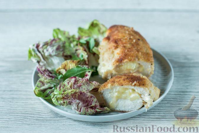 Куриное филе с ананасами в духовке – пошаговые рецепты