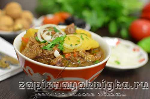 Узбекские блюда из мяса — 12 отменных рецептов с фото