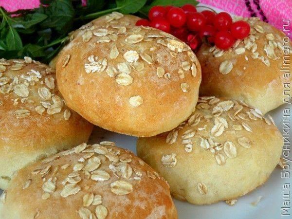 Французские овсяные булочки