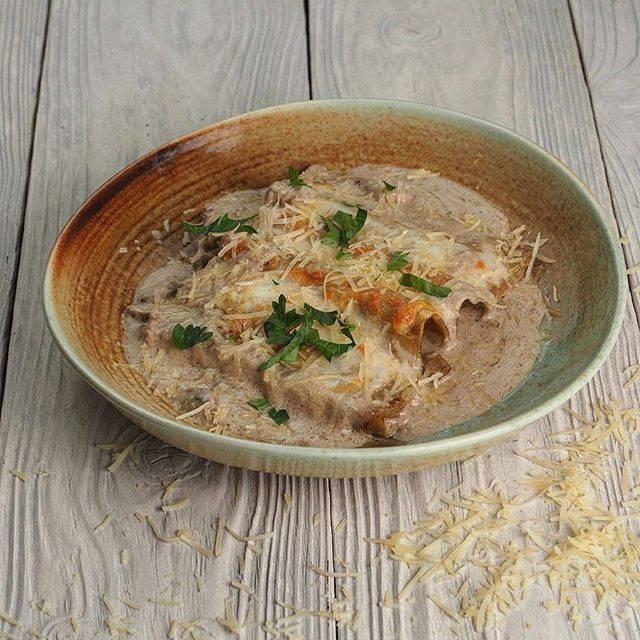 Как приготовить самую вкусную свинину с белыми грибами