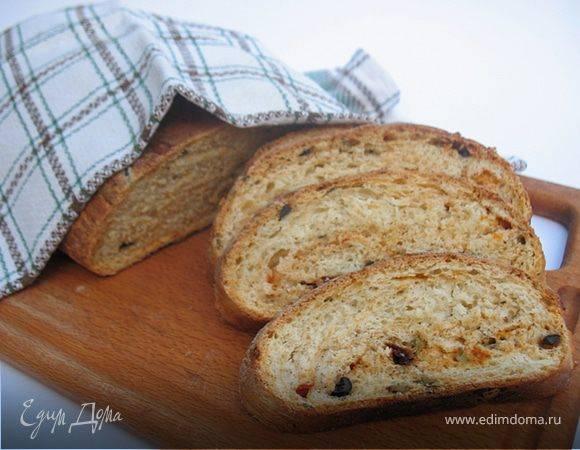 Хлеб с маслинами,чесноком и прованскими травами в хлебопечке: дневник группы «удовольствие на кухне»: группы - женская социальная сеть myjulia.ru