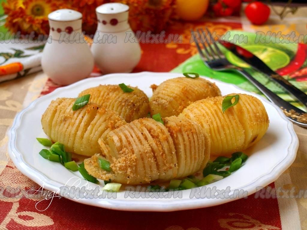 Картофель, запечённый с салом и луком - рецепт с фотографиями - patee. рецепты
