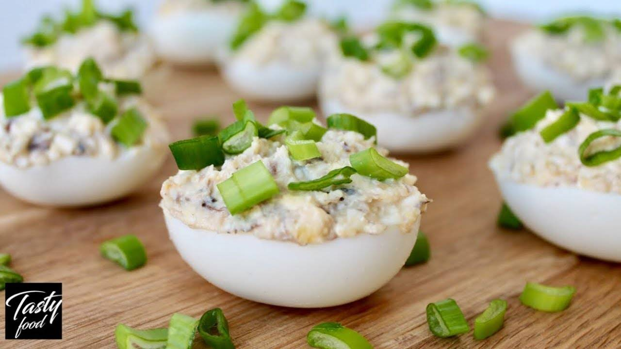 Закуски из яиц - рецепты