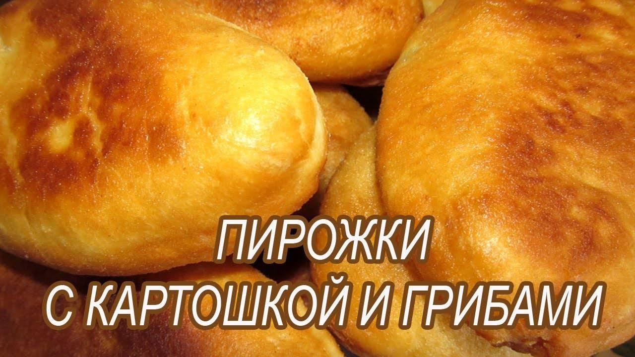 Рецепты пирожки с картошкой и грибами