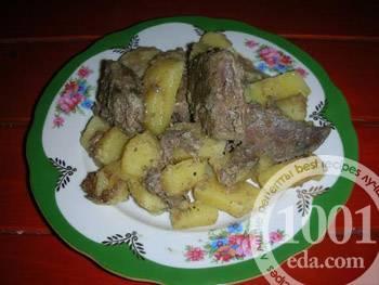Печень с картошкой. рецепты с фото, как вкусно приготовить на сковороде, в духовке