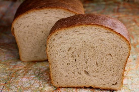Гречневый хлеб на сыворотке