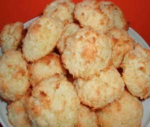 """Кокосовое печенье """"конусы"""""""
