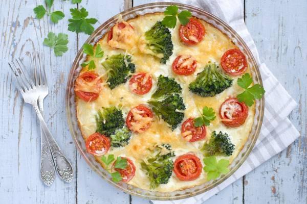 Овощная запеканка с сыром - 14 пошаговых фото в рецепте