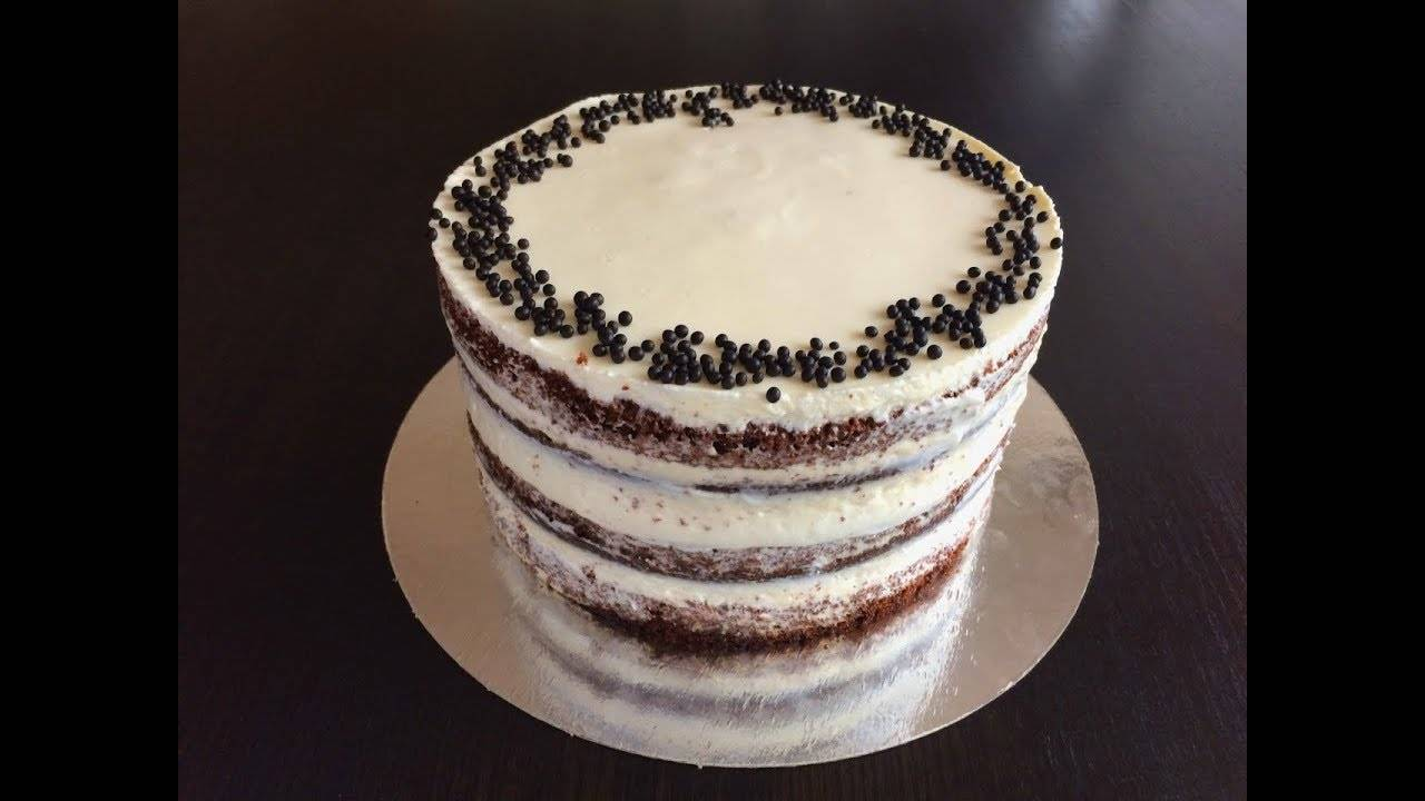 Черемуховый блинный торт с вишневым соусом