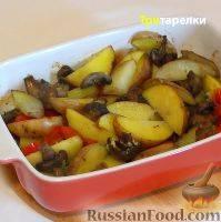 Баклажаны, тушеные с грибами - 7 пошаговых фото в рецепте