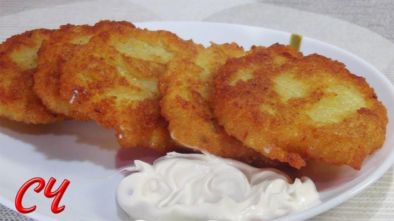 Драники без яиц— 3 простых вкусных рецепта