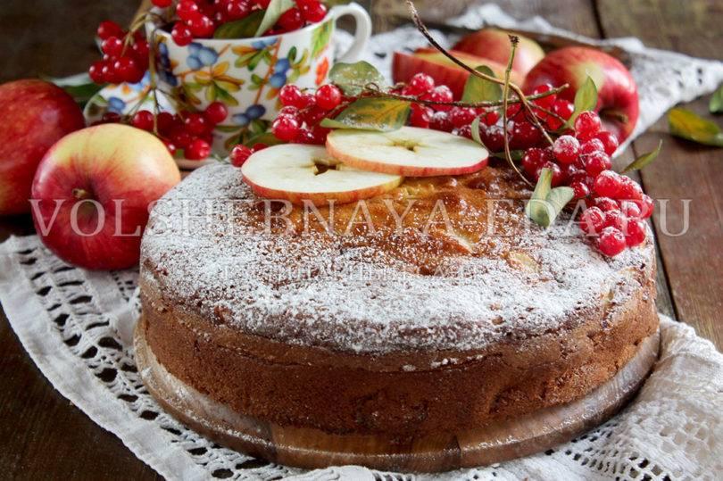 Кекс с яблоками (на кефире творожный): рецепты с фото