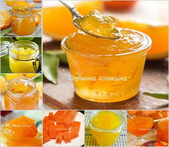 Варенье из кабачков с апельсинами и лимонами на зиму