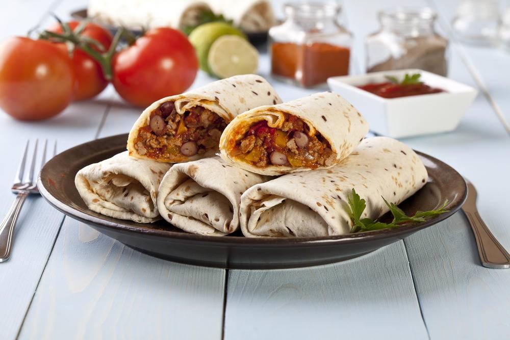 Блюда мексики: готовим буррито