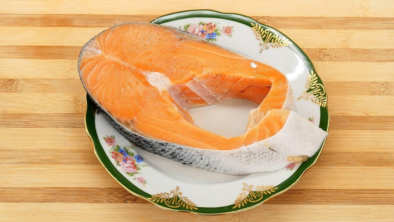Хребты лосося в томатном кляре