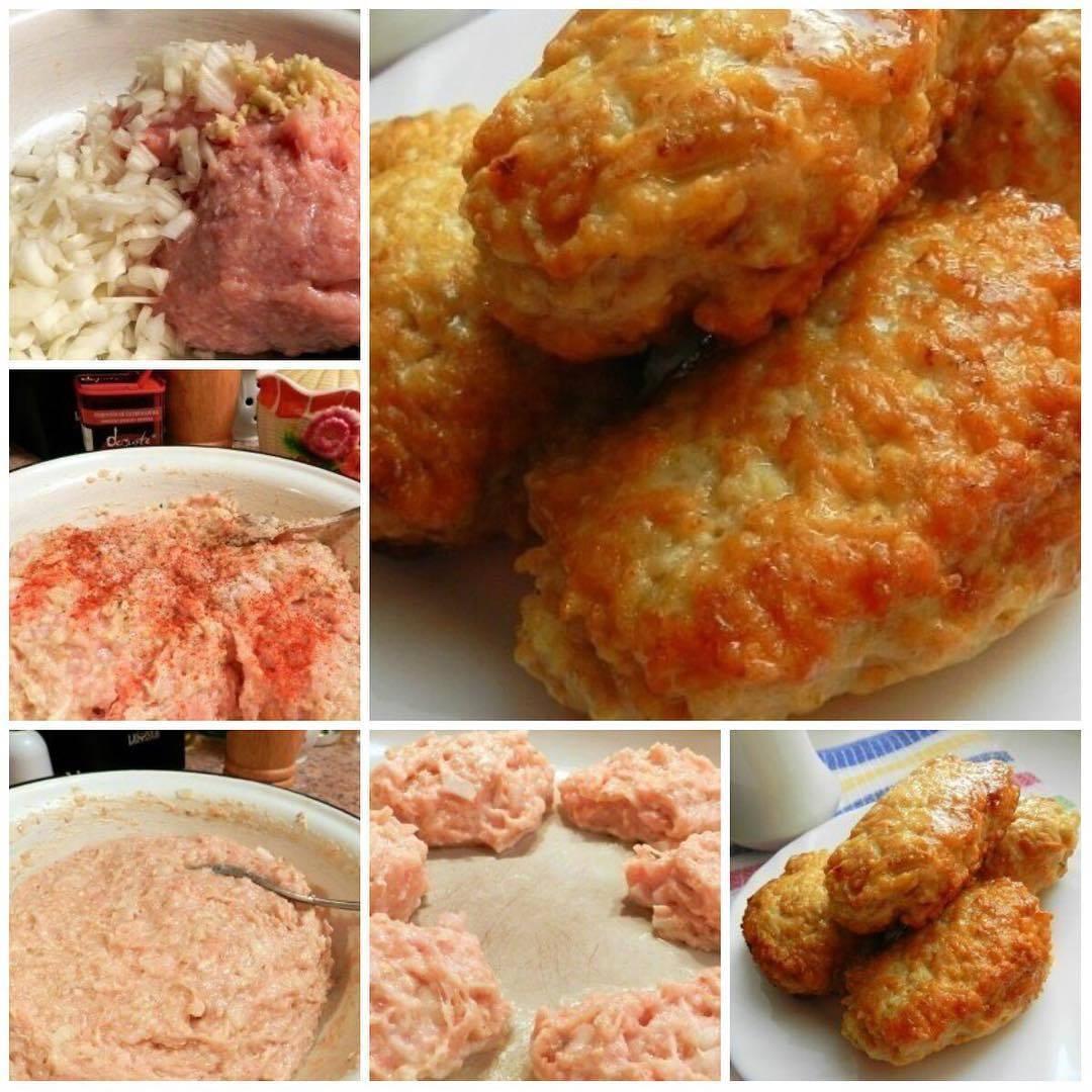 Куриные котлеты с овсянкой рецепт приготовления пошаговый