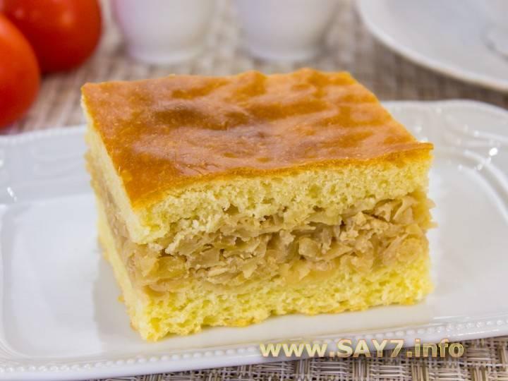 Бабушкино тесто для пирожков с капустой