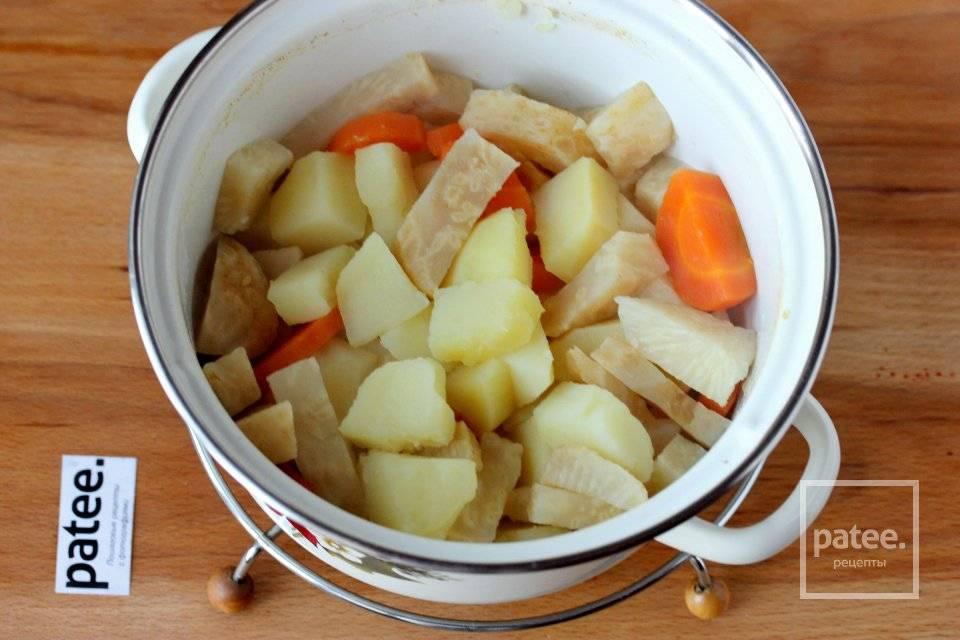 Картофельное пюре с сельдереем - 7 пошаговых фото в рецепте