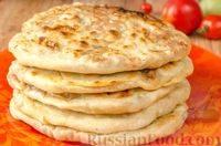 Балкарские хычины с сыром и картофелем