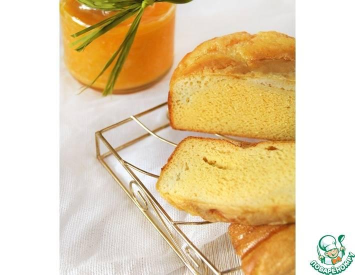 Кукурузно-медовый хлеб