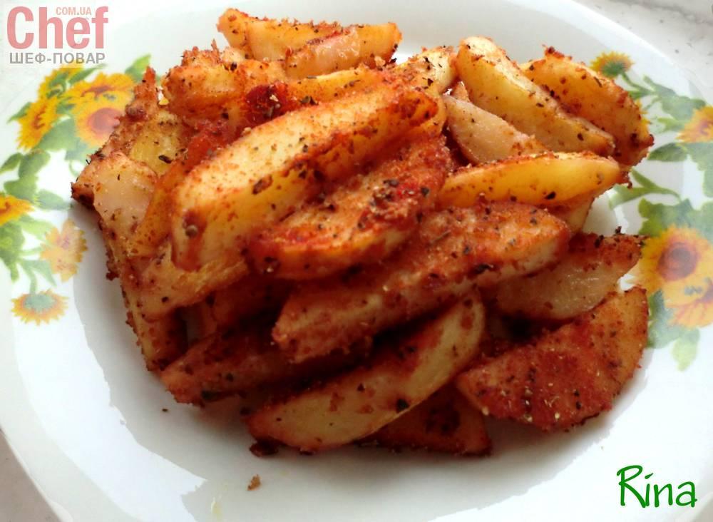 Картошка в сухарях в духовке рецепт приготовления