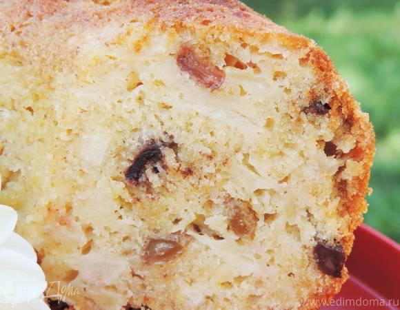 Яблочный кекс с яблоками