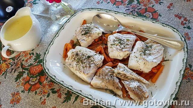 Филе трески в сырном суфле