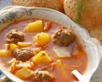 Макароны с фрикадельками - 12 пошаговых фото в рецепте