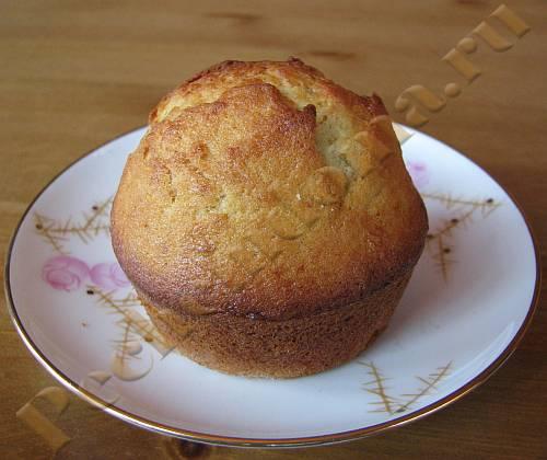Кокосовый кекс