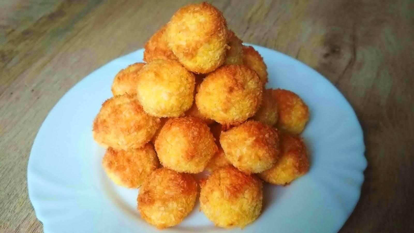 Булочки кокосовые на сгущенном молоке