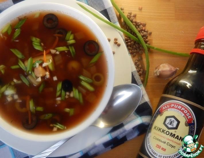 Суп с сельдереем и молоком