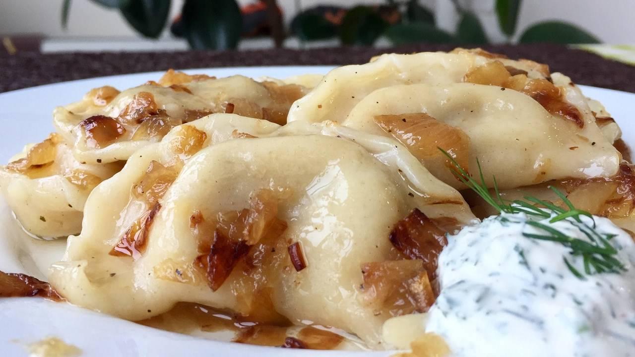 Вареники с картошкой и грибами: пошаговый рецепт приготовления в домашних условиях