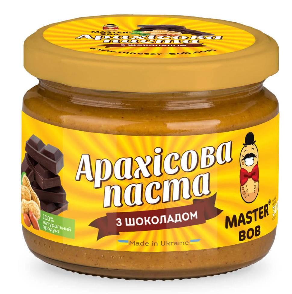 Домашняя шоколадная арахисовая паста