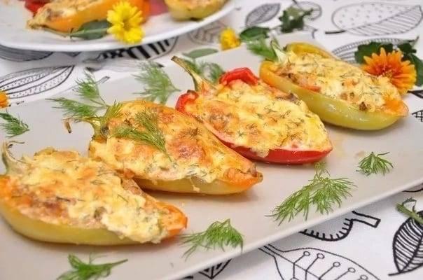 Фаршированные перцы в духовке: пошаговый рецепт с фото, видео