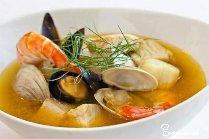 Морепродукты - рецепты
