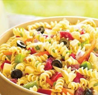 Итальянский салат с макаронами — 7 рецептов