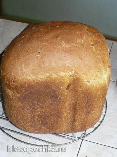 Овсяный хлеб с кедровыми орешками