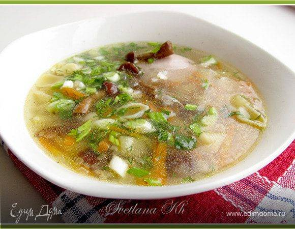 Суп с индейкой и цельнозерновым рисом