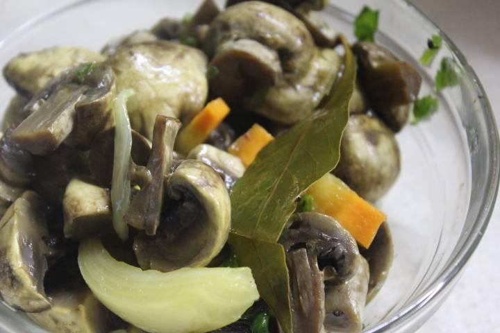 Драники картофельные с белыми грибами