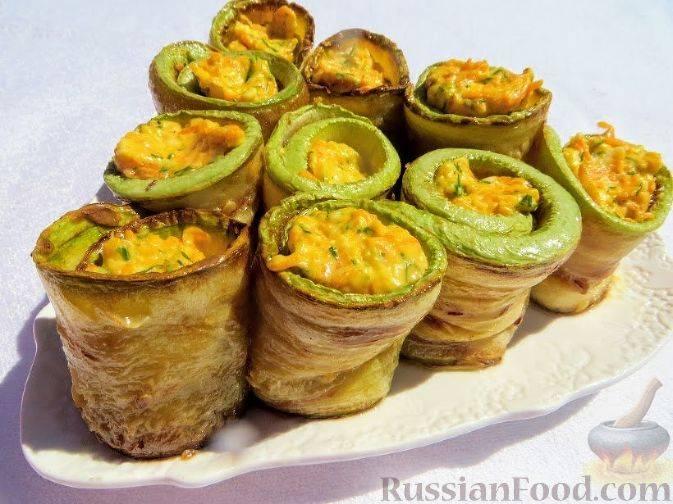 Маринованные рулетики из кабачков на зиму: интересные рецепты