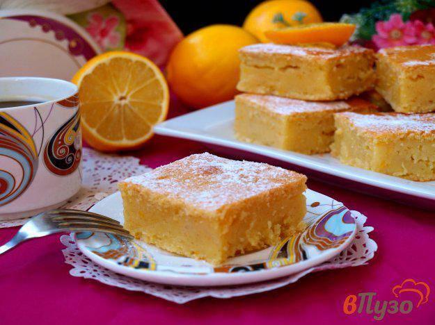 Яблочно-лимонный манник