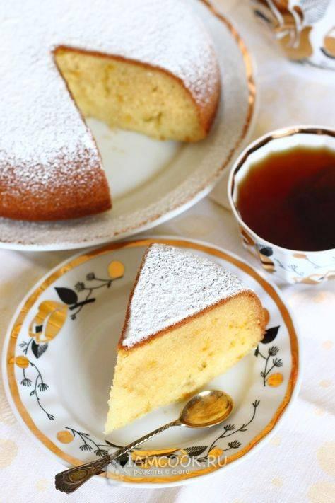 Пошаговый рецепт приготовления кекса на сметане