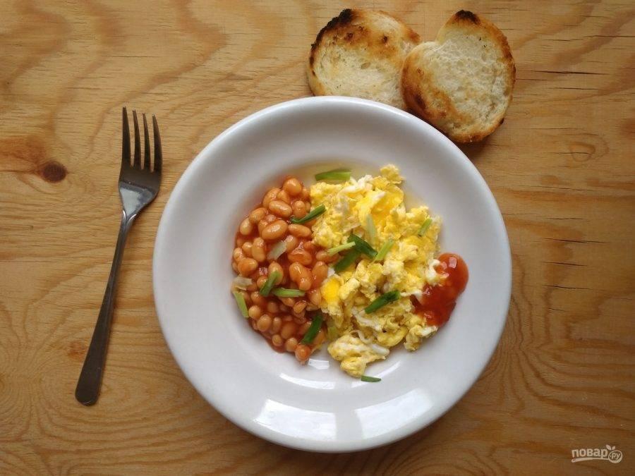Завтрак из яиц - 1881 домашний вкусный рецепт приготовления