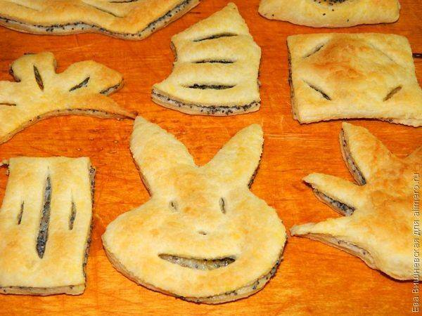Фигурное печенье без формочек